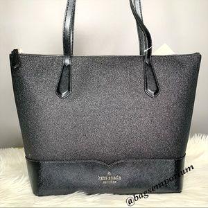 Kate Spade Large Glitter Tote purse